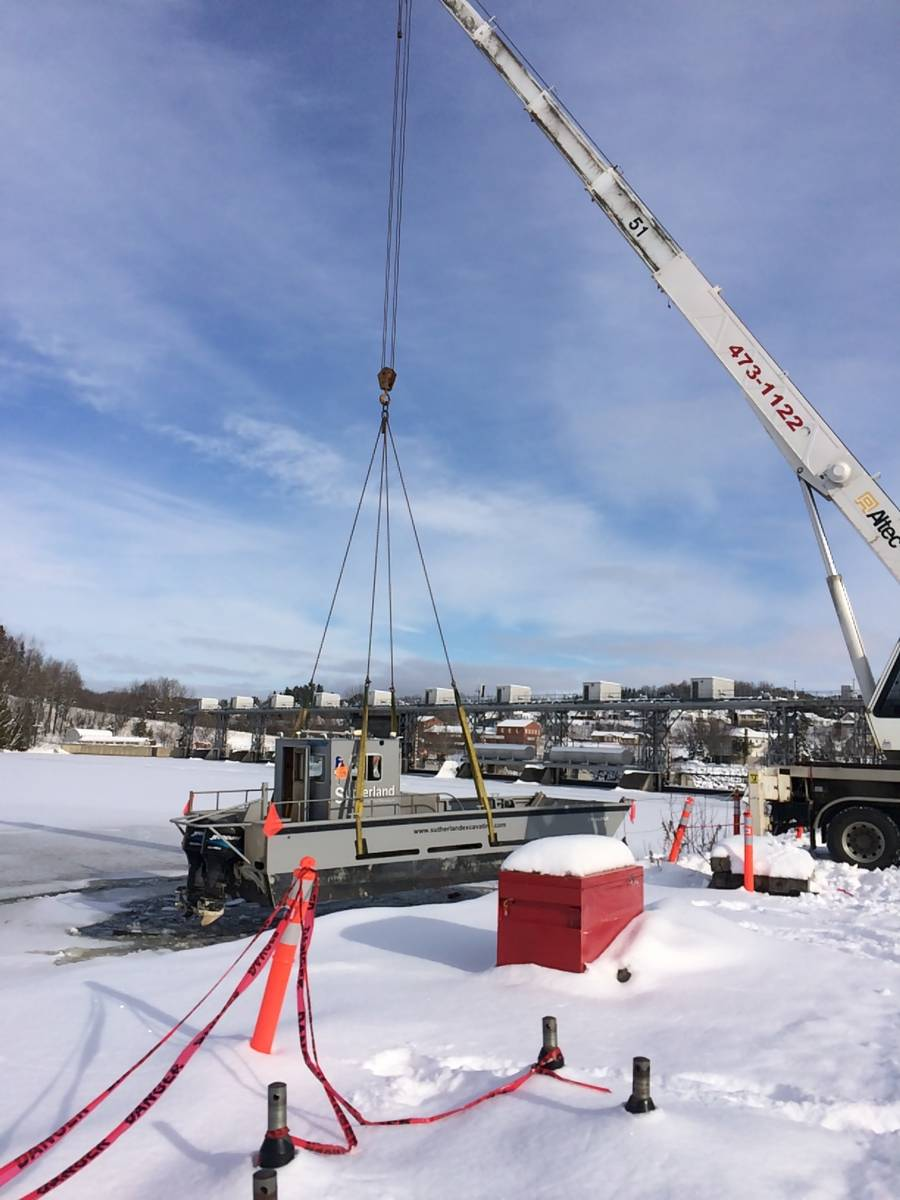 Ice Breaking for NB Power
